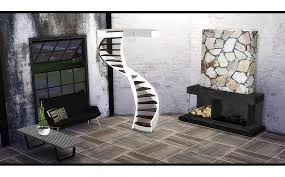 ts3 to ts4 fusion spiral stairs by gosik request sims 4 designs