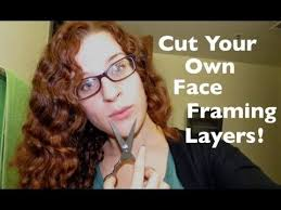 how to cut your own curly hair in layers the 25 best face frame layers ideas on pinterest face framing