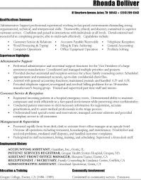 Administrative Assistant Resume Objectives Cna Resume Objective Objective On Resume Examples Resume