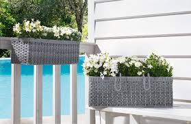how to set balcony railing planters in best way home xmas home