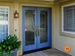 Double Front Entrance Doors by Amazing Exterior Double Glass Entry Doors Modern Front Double Door