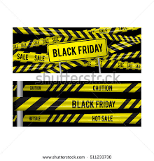 black friday sale sign black friday sale set horizontal banner stock vector 511233715