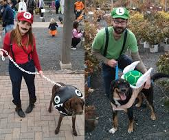 mario costumes for halloween mario themed costumes for dogs and people 3 steps
