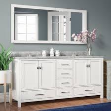 White Vanity Bathroom White Vanities For Bathroom You Ll Love Wayfair 20 Quantiply Co