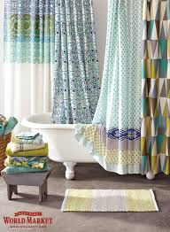 Teal Ruffle Shower Curtain by Curtains Ombre Ruffle Shower Curtain Boho Shower Curtains Shower