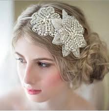 hair beading white bridal hair clasp flowers beading wedding dress hair