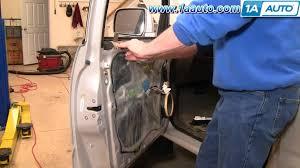 how to install replace power window regulator toyota 4runner 96 02