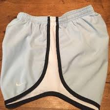 light blue nike shorts nike pants womans tempo dry fit short light blue poshmark