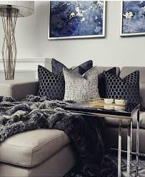 layering shades of black indigo and warm gray paint colors and