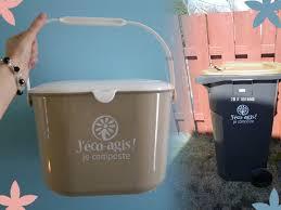 poubelle compost pour cuisine bac à compost qu est ce qui peut être composté éco picurienne