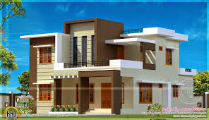 100 sq meters house design 204 square meter flat roof house kerala home design and floor plans