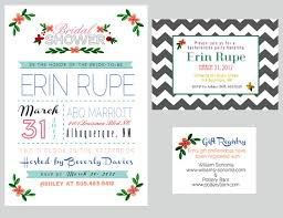 gift registry for bridal shower bridal shower invitations bridal shower invitations registry