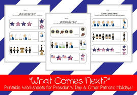presidents u0027 day u201cwhat comes next u201d printable activity