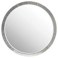 Bevelled Mirror Antelope Nickel Mirror Mirrors Decorus Furniture