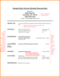resume for high school student 7 resume exles for highschool students appeal leter
