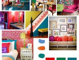 bright colour interior design clash the senses bright colour trend write on trend