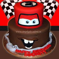 2 tier disney cars fondant lightening mcqueen mator birthday