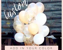 custom balloon bouquet delivery 1 year balloons etsy