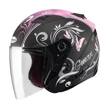 pink motocross helmets g max of77 butterflies helmet motorcycle house