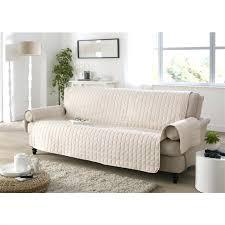 housse pour assise de canapé canape housse pour assise de canape canapac 2 places couleur blanc