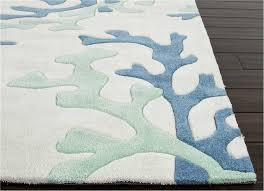 Area Rugs Blue And Green Fusion Coral Fixation Area Rug 9 X 12