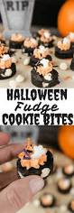 halloween cookie cake halloween fudge cookie bites