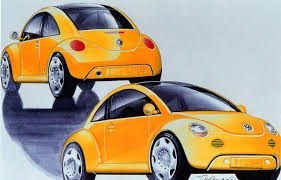 volkswagen orange concept car of the week volkswagen concept 1 1994 car design news