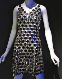 eye on design paco rabanne disc dress circa 1966 the worley gig