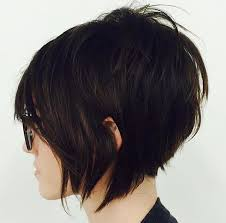 short stacked layered hairstyles best hairstyle 2016 short textured bob edgy short cut by msbjones11 hair