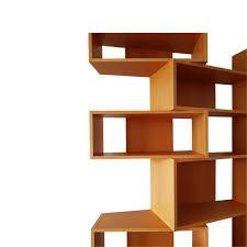 Beech Bookcases Uk Italian Wide Beech Bookcase By Franco Poli For Bernini 1995 For