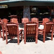 Log Outdoor Furniture by Outdoor Rustic Log Furniture Of Utah