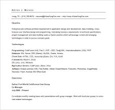 Senior Net Developer Resume Sample Web Developer Resume Template U2013 11 Free Word Excel Ps Pdf