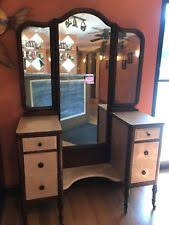 antique dressing table with mirror antique vanity table ebay