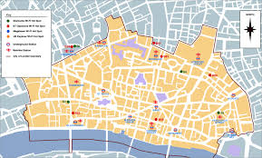 Map Of London England by Download Map Of City Of London Major Tourist Attractions Maps