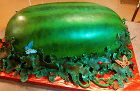 full size watermelon cake for local fundraiser cakecentral com