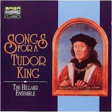 songs for a tudor king fayrfax cornysh hilliard ensemble