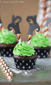 wicked witch cupcakes your cup of cake