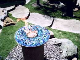 Starfire Fire Pits - convert an old fire pit into a modern glass and fire pit custom