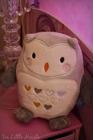 six little hearts the gro company grofriends ollie the owl light