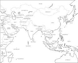Asia Blank Map Blank Map Of Europe Asia And Africa Link To File
