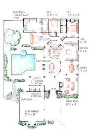 atrium house plans corglife