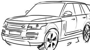 range rover sketch new 2013 range rover speculatively rendered