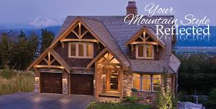 style homes mountain style timber homes