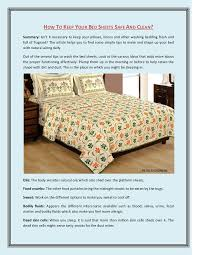 Bed Sheets That Keep You Cool How To Keep Your Bed Sheets Safe And Clean