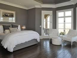 Gray Bedrooms Bedroom Brown Wooden Flooring White Matresses Small Master