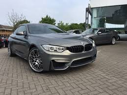 green bmw m4 individual stratus grey m4 competition package coupe the