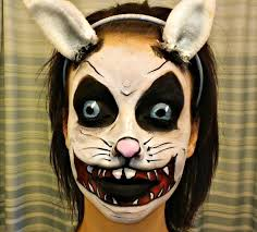 Skeleton Face Paint For Halloween by I U0027m Back Easter Bunny Face Paint Tutorial Youtube