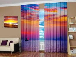 Curtains Blinds Digital Printing And Colorful Photo Curtains Bringing Modern Art