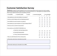 customer satisfaction report template customer satisfaction survey templates word templates resume