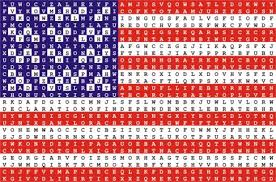 july 4th word search